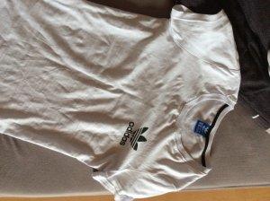 Adidas Haut basique blanc-noir