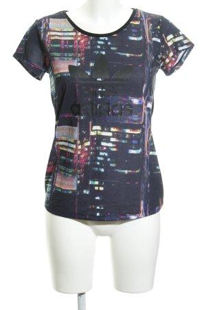 Adidas Camiseta estampado repetido sobre toda la superficie estilo deportivo