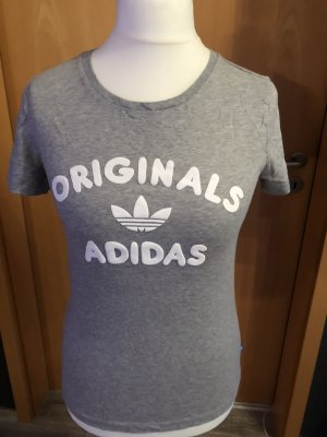 Adidas Originals T-shirt grigio chiaro