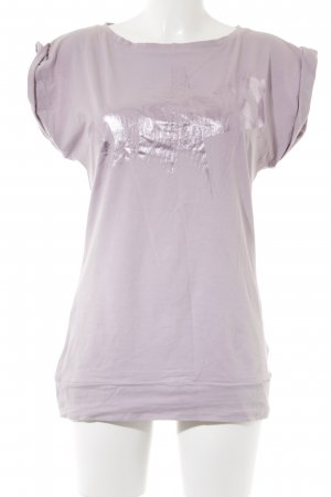Adidas T-Shirt blasslila Casual-Look