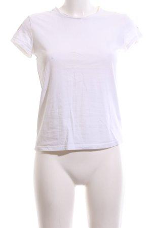 Adidas T-Shirt weiß Casual-Look