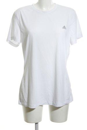 Adidas T-Shirt weiß sportlicher Stil