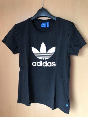 Adidas Camicia fantasia nero-bianco