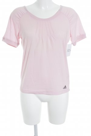 Adidas T-Shirt hellrosa Casual-Look