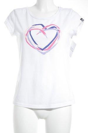 Adidas T-Shirt Herzmuster sportlicher Stil