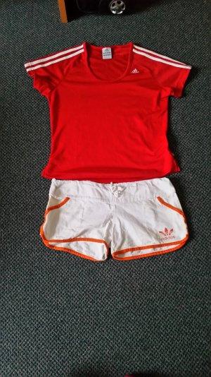 Adidas T-shirt+Hose  Größe 36