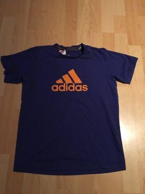 adidas t-shirt in lila