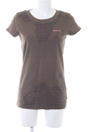 Adidas T-Shirt khaki Casual-Look