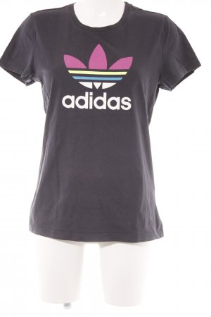Adidas T-Shirt Motivdruck Casual-Look