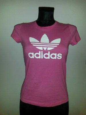 Adidas T-Shirt Pink Größe 38