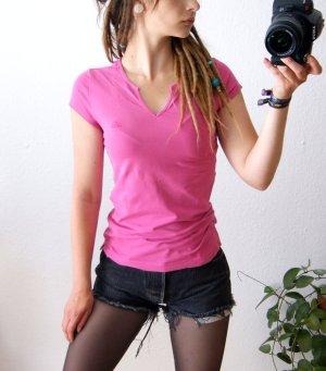Adidas T-Shirt, pinkes Adidas Sportshirt