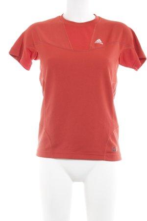 Adidas T-Shirt rot sportlicher Stil