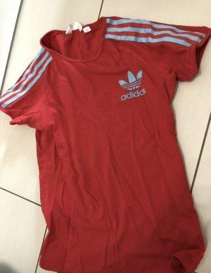 Adidas T-Shirt Rot/ Türkise