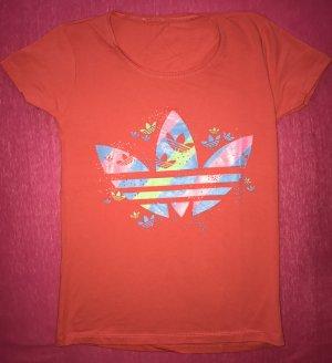Adidas T-Shirt rot XS