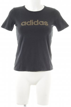 Adidas T-Shirt black casual look