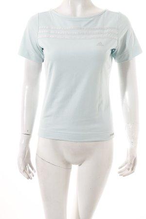 Adidas T-Shirt türkis sportlicher Stil