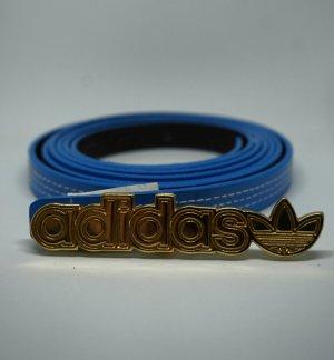 Adidas Taillengürtel Blau/Gold