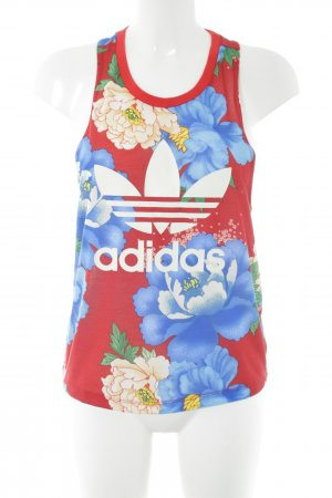 Adidas Tank Top allover print athletic style