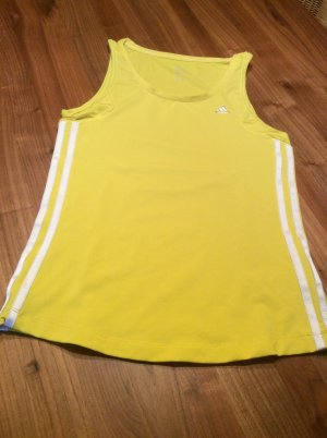 Adidas Sports Shirt white-yellow