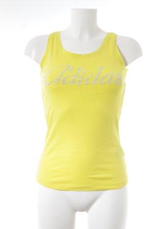 Adidas Tanktop gelb sportlicher Stil