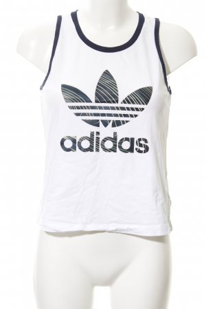 Adidas Tank Top placed print '90s style