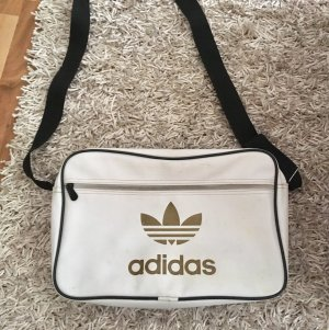 Adidas Gekruiste tas wit-brons