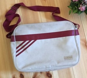 Adidas Tasche - Cremeweiß/Rot