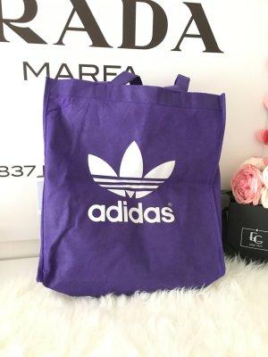 Adidas Tasche Lila Weiß