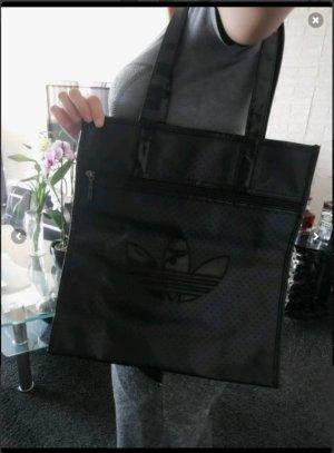 Adidas Shopper black imitation leather