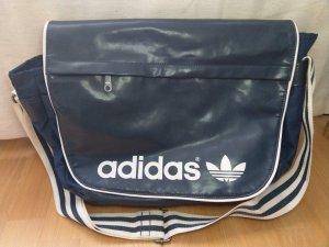 Adidas Crossbody bag white-dark blue