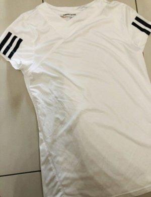 Adidas Originals T-shirt de sport blanc-noir