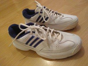 adidas Tennisschuhe Sportschuhe Laufschuhe weiß lila