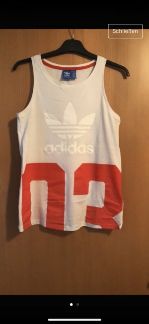 Adidas Originals Shirt white-red