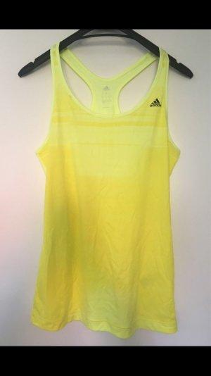 Adidas Sporttop geel-neongeel