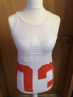 Adidas Originals Camicia bianco-rosso