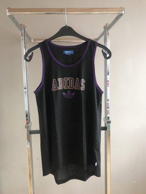 Adidas Haut évasé en bas noir-violet