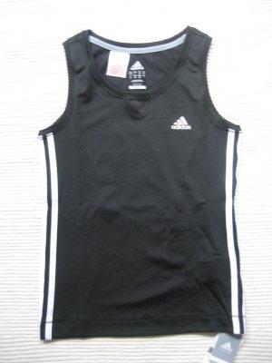 adidas top schwarz neu fitness jogging sport climacool gr. s