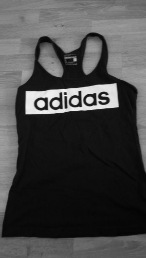 Adidas Top Schwarz S