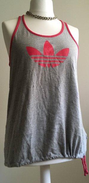 Adidas Top Shirt Tanktop grau