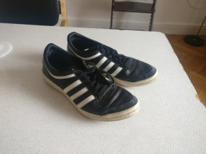 Adidas top ten, low, sleek series, Gr. 38 2/3, schwarz-weiß