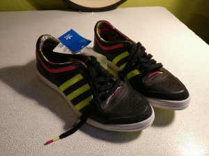 Adidas Top Ten low * Sleek Series * neon gelb * nagelneu! * Größe 38 2/3