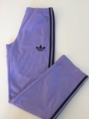 Adidas Trackpants Trainingshose XS Flieder schwarz
