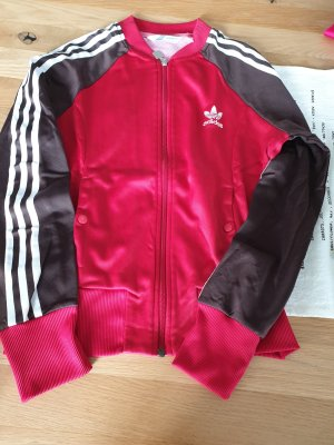 Adidas Originals Veste de sport rouge