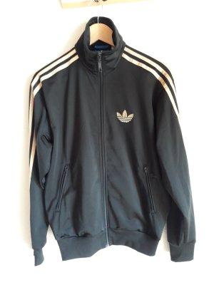 Adidas Originals Veste de sport noir-doré
