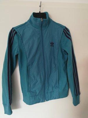 Adidas Giacca sport rosso mora-turchese