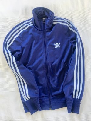 Adidas Giacca sport viola scuro-blu