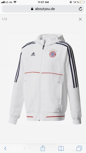 Adidas Sportjack wit