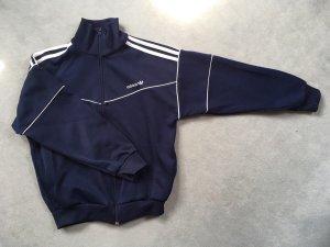 Adidas Giacca sport blu scuro-bianco