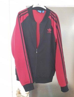 Adidas Sportjack rood-zwart