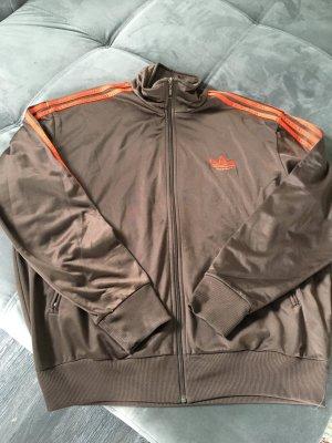 Adidas Originals Sports Jacket brown-orange